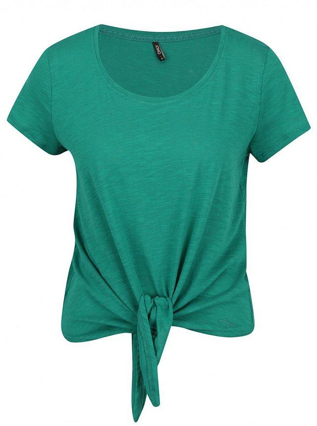 Zelené tričko Only, ZOOT.cz, cena 389 Kč.