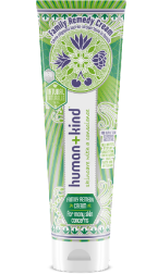 Víceúčelový krém má hydratační a vyživujícími schopnosti, ochraní i sluncem podrážděnou pokožku, Human and kind, cena 499 Kč, k dostání v síti parfumerií Marionnaud.