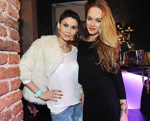 Vlaďka Erbová s Dominikou Kadlčkovou se skvěle bavily.