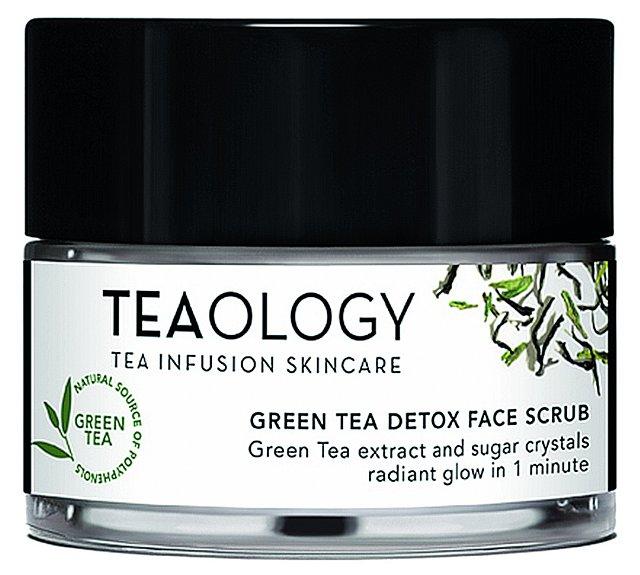 Green Tea Detox Scrub pleťový peeling se zeleným čajem, Teaology, 50 ml 795 Kč