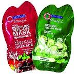 Pleťové slupovací masky Revealing Peel-Off Mask Pomagranate a Cucumber Peel-Off Mask, Freeman, 15 ml 34 Kč