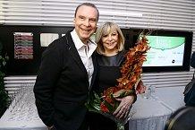 Štefan Margita a Hana Zagorová patří mezi nejstabilnější páry českého showbyznysu.