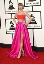 Zpěvačka Taylor Swift.
