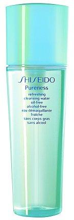 Svěží odličovací voda Pureness Refreshing Cleansing Water, Shiseido, 150 ml 800 Kč