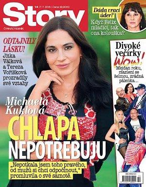 Titulní stránka časopisu Story č. 14.