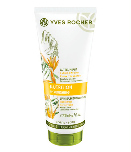 Vyživující tělové mléko na velmi suchou pokožku, Yves Rocher, cena 229 Kč.