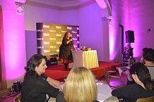 Halina Pawlowská přijela se svou one woman show Strašná nádhera.