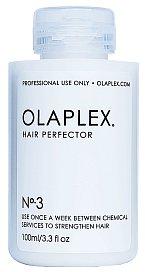 Intenzivní domácí ošetření Hair Perfector No. 3 dodává hydrataci a výživu, Olaplex, v prodeji ve vybraných kadeřnických salonech, cenu produktu si každý salon určuje sám.
