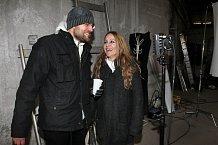 Petr Svoboda se svou manželkou se při natáčení dost nasmáli.