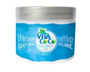 Kokosový olej má několikanásobné použití, můžete ho použít také jako vlasovou péči, Vita Coco, Sephora, cena 140 Kč.