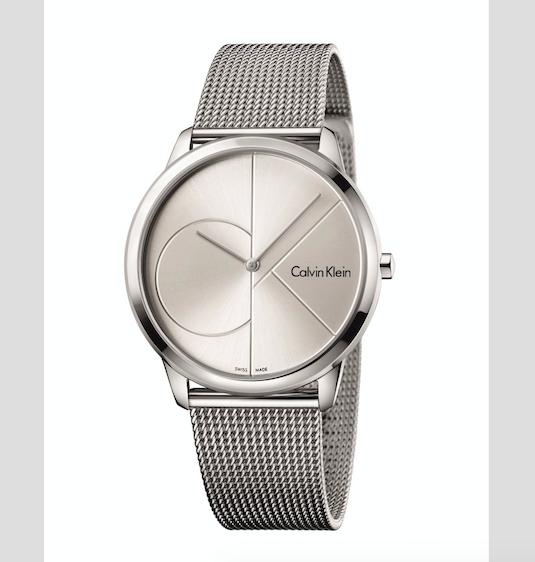 Dárek pro něj. Pánské hodinky Calvin Klein Minimal, cena 5330 Kč.
