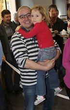 Známý herec se svou milovanou dcerkou Claudií.