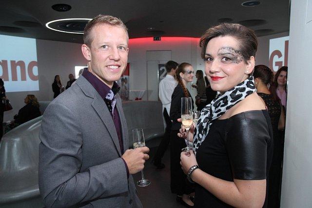 Michal Votruba, provozní ředitel Tawan s Markétou Behinovou
