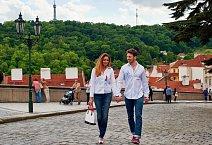 Martin Gardavský s Evou Čerešňákovou vypadali jako zamilovaný pár.