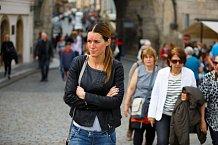 Lucie Váchová se stala tváří kampaně rosacea.