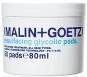 Resurfacing Glycolic Pads tamponky napuštěné glykolovou kyselinou, která odstraňuje odumřelé buňky, urychluje buněčnou obnovu a produkci kolagenu, Malin+Goetz, 50 tamponků 80 ml 1490 Kč