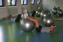 Aktivní odpočinek si můžete užít při nejrůznějších druzích cvičení...