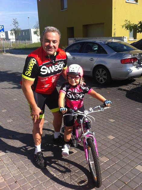 Herec Martin Zounar se svou dcerou Klaudií