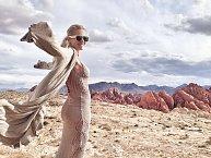 Slovenská zpěvačka v Nevadské poušti