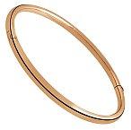 Zamilovaným šperkem je jednoduchý náramek z růžového zlata. Vyrobený zlatníkem na zakázku.