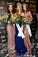 České Miss 2014 Nikola Buranská (vlevo), Gabriela Franková a Tereza Skoumalová