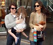 Tom Cruise a Katie Holmes měli pohádkovou svatbu. Kdo by to řekl, že se taková idyla rozpadne?