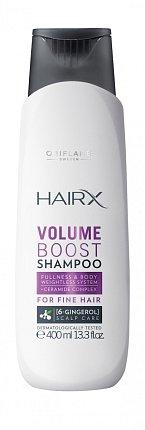 Objemový šampón HairX Oriflame. Cena 169 Kč.