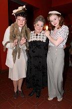 Martina Randová s Ludmilou Molínovou a Marií Doležalovou