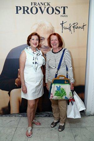 Iva Janžurová s majitelkou salonů Franck Provost Marií Mixovou.