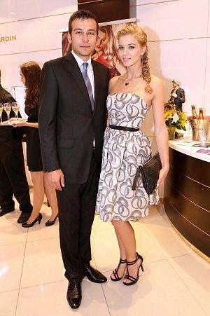 Česká Miss Gabriela Franková s přítelem