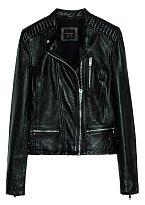 Černá kožená bunda rozhodně patří mezi nejzásadnější kousky mého šatníku. ZARA, 5299 Kč.