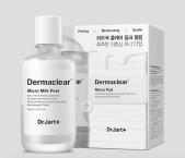Micropeelingové mléko + 40 tamponků Dermaclear Micro Milk Peel, Dr. Jart+, cena 880 Kč. K dostání exkluzivně v síti Sephora.