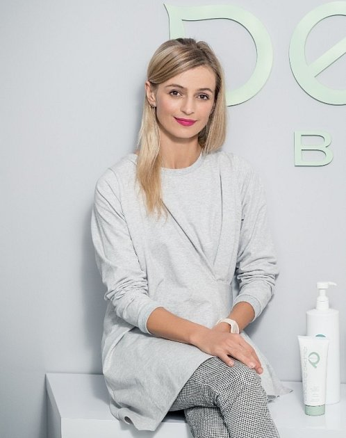 Herečka Ivana Jirešová