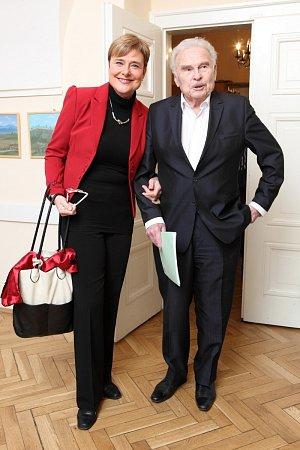 Marie Retková s Luďkem Munzarem