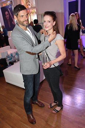 Andrea Kerestešová s přítelem Mikolášem Růžičkou