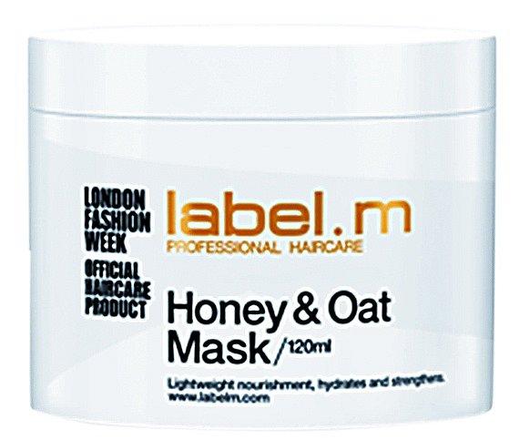Výživná a posilující maska Honey & Oat Mask, label.m, 120 ml 450 Kč