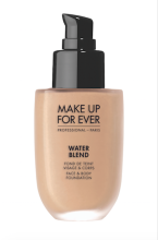 Tekutý make-up na obličej & tělo Water Blend Face & Body Foundation MAKE UP FOR EVER, Sephora, cena 1090 Kč.
