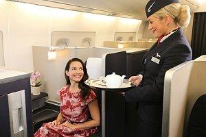 Kristin často cestuje po celém světě. Není proto divu, že ocení pohodlí a úslužný personál.