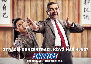 Mr. Bean pro Snickers