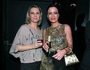 Moderátorku Gábinu Partyšovou doprovodila sestra Monika.