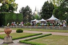 Prague Food Festival se koná v zahradách Pražského hradu.