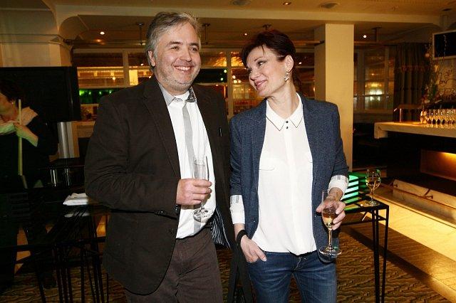 Známá herečka se na aukci potkala i se svým kamarádem Ondřejem Kepkou.
