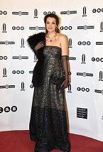 Kateřina Sokolová se na ples v Opeře ozdobila šperky známé klenotnické firmy.