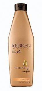 Diamond oil šampón značky Redken vyživuje vlasy do hloubky.