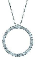 Nově mám diamantové kolečko, které z krku prakticky nesundavám. Diamond Club, 37000 Kč