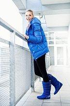 Proti zimě se Dara vybavila bundou adidas Premium Down a kozačkami Northern