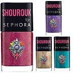 Odstíny nových laků Shourouk for Sephora se vám budou určitě zamlouvat! Cena 160 Kč.