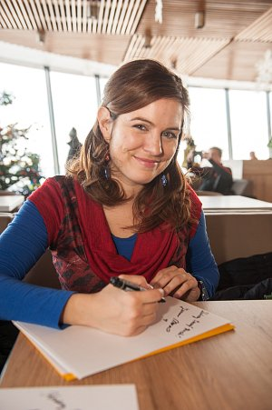 Zuzana Norisová si při natáčení užila dosti mrazivé okamžiky.