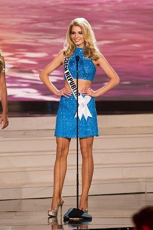 Gabriela Franková na Miss Universe v americkém Miami