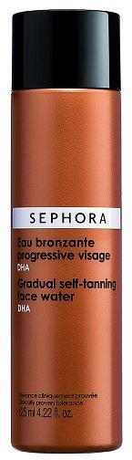 Samoopalovací voda na obličej Gradual Self-Tanning Face Water s postupným účinkem, Sephora, 125 ml 350 Kč
